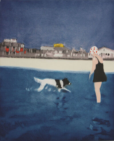 Isca Greenfield-Sanders, 'SILVER BEACH', 2008