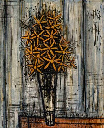 Bernard Buffet, 'Bouquet de marguerites', 1957