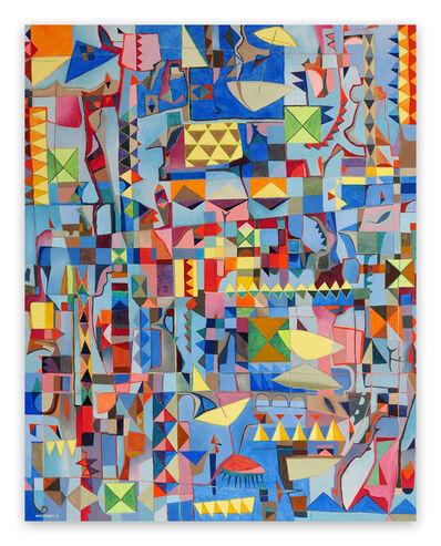 Jeremie Iordanoff, 'Plage (Abstract painting)', 2018