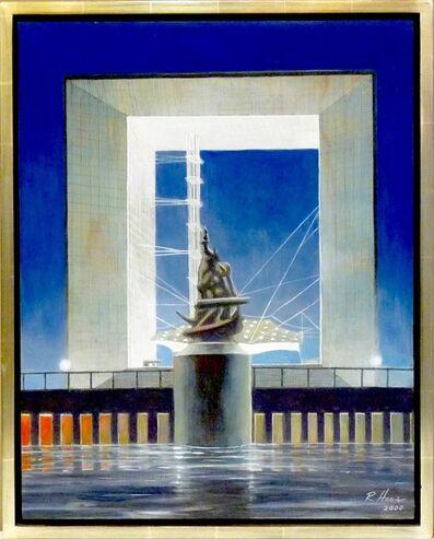 Richard Haas, 'La Grande Arche de la Defense, Puteaux, France', 2000