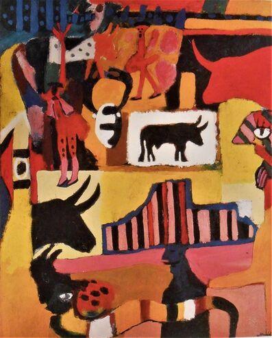 Sergio Hernández, 'La Fiesta', 1985