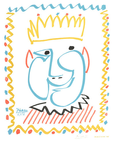 Pablo Picasso, 'Le Roi (The King)', 1951