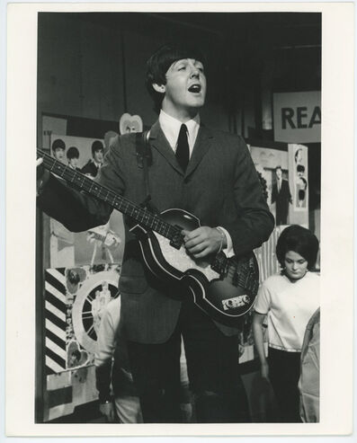 Unknown, 'Beatles Paul McCartney Performing On stage', ca. 1964