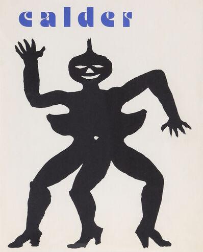 Alexander Calder, 'Derrière le Miroir Cover', 1975
