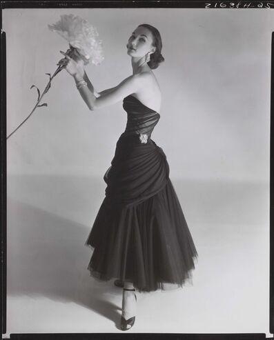 Horst P. Horst, 'Evelyn Tripp Modelling a Charles James Dress, Vogue', 1951