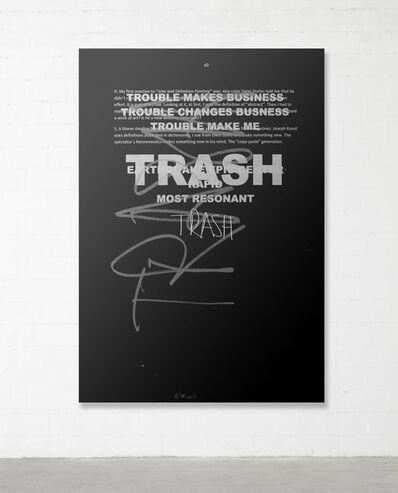 Stefan Brüggemann, 'Trash Painting #3', 2017