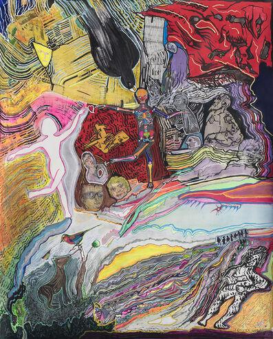 Luis Felipe Noe, 'Oh-la-vida- 100 x 80 cm. ', 2018