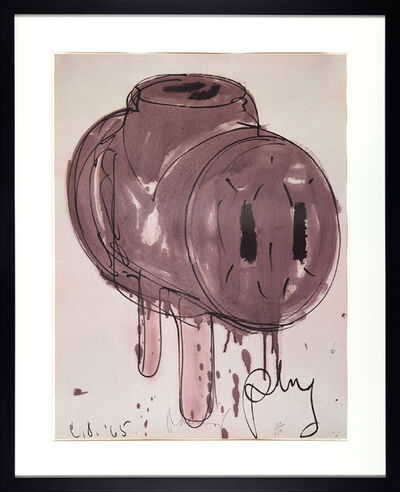 Claes Oldenburg, 'Sketch of 3-way Plug', 1972