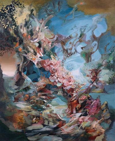 Oliver Vernon, 'Brushing away the Veil ', 2019