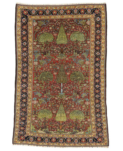 Unknown Artist, 'Baktiari Garden Carpet', late 19th c.