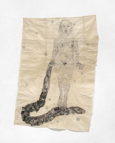 Kiki Smith, 'Woman Standing on Snake', 2010