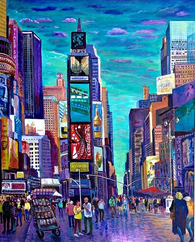 Thelma Appel, 'Times Square VI', 2015