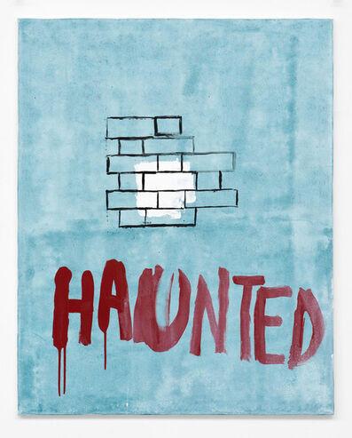 Walter Swennen, 'Haunted', 2014