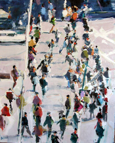 David Kapp, 'Winter Crowd', 2009