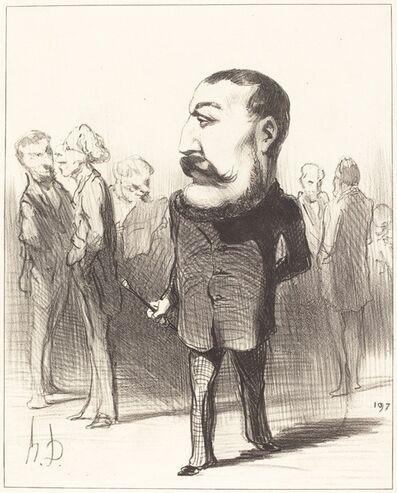 Honoré Daumier, 'Pierre-Napoléon Bonaparte', 1849