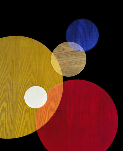 Alejandra Laviada, 'Primay Colors #3 (Circle Studies)', 2017