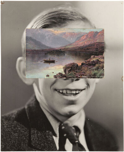 John Stezaker, 'Mask (Film Portrait Collage) CXCIV', 2016