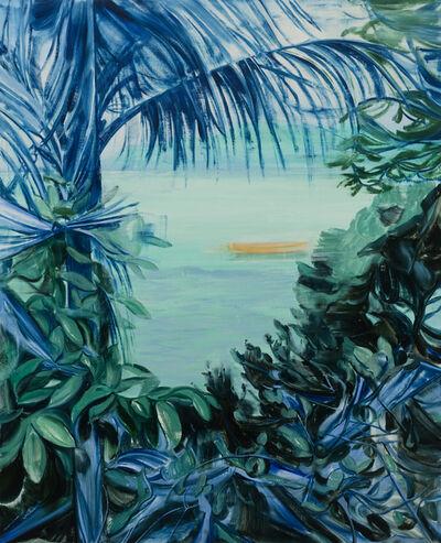 Lei Qi, '蓝色奏鸣曲  Blue sonata', 2020