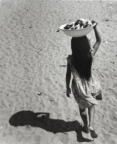 Rodrigo Moya, 'Niña sombra, San Mateo del Mar, Oaxaca', 1960