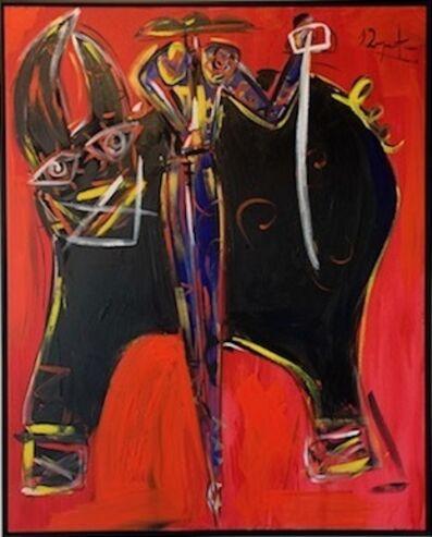 Domingo Zapata, 'Toro Rojo', 2018