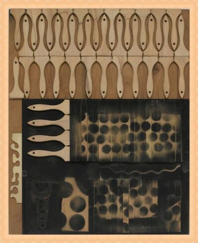 Louise Nevelson, 'UNTITLED', 1958