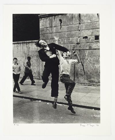 Roger Mayne, 'Footballers, Southam Street, N. Kensington', 1958