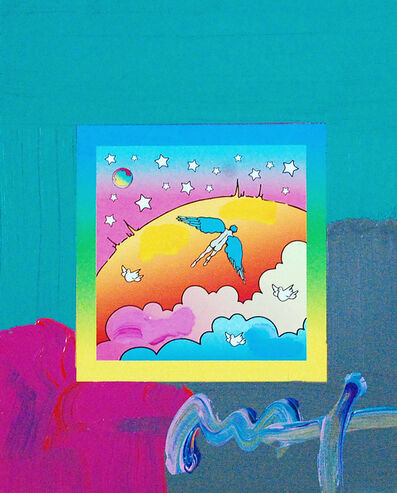 Peter Max, 'Angel Clouds on Blends (Ref. # 408)', 2007
