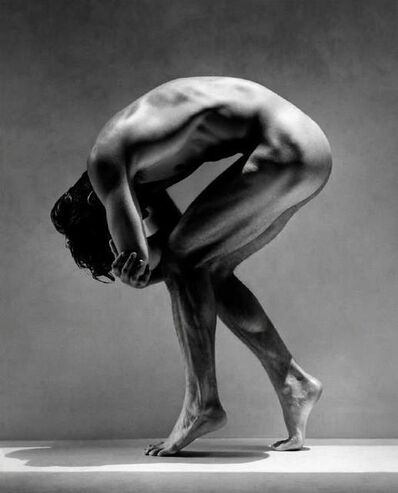 Greg Gorman, 'Tony Bent Over, Los Angeles', 1988