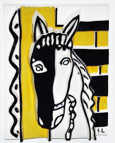 Fernand Léger, 'Le Cheval sur fond jaune', 1953