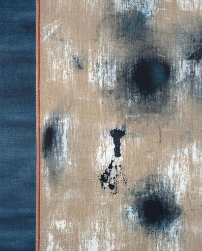 Maureen Meyer, 'Untitled (Red Selvedge, Left Seam)', 2017