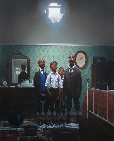 Kadir Nelson, 'A Hole in the Roof', 2014