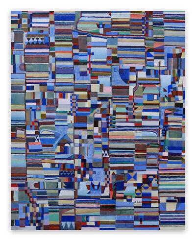 Jeremie Iordanoff, 'Peu avant l'aube (Abstract painting)', 2020