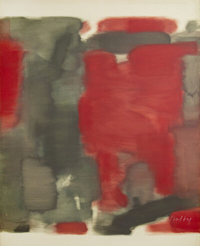 Carl Holty, 'Twelfth Night (Red)', 1962