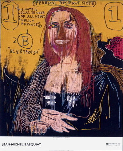 Jean-Michel Basquiat, 'Mona Lisa Exhibition Poster', 2002