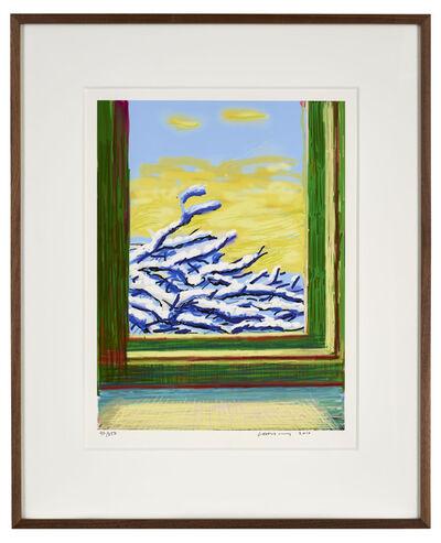 """David Hockney, '23rd December 2010 """"No. 610""""', 2010"""