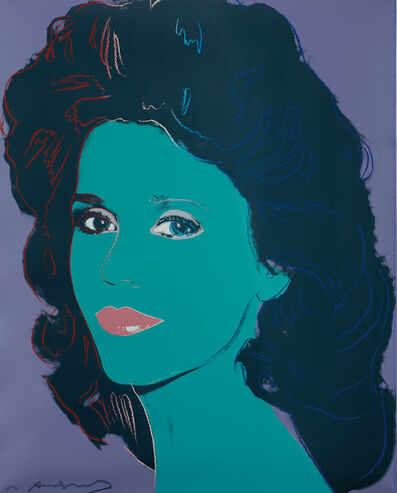 Andy Warhol, 'Jane Fonda', 1982