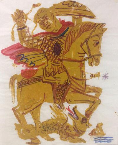 Apostolos Chantzaras, 'Byzantine Noble Rider', 2016