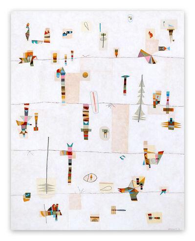 Jeremie Iordanoff, 'Taïga (Abstract painting)', 2019