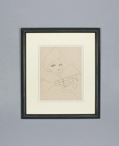 Francis Picabia, 'Femme à la toque', ca. 1941-43