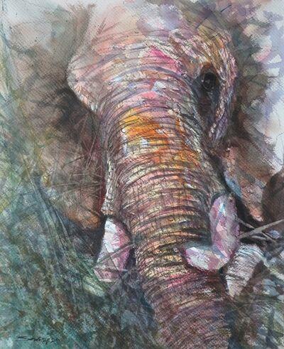 Sawan Tantiwan, 'Kuiburi Elephant Reserve VII', 2020