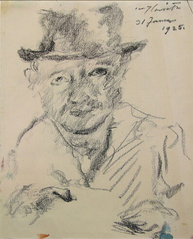 Lovis Corinth, 'Self-Portrait', 1925