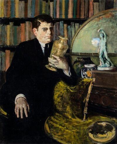 Guglielmo Janni, 'Portrait of lawer Tancredi', 1922