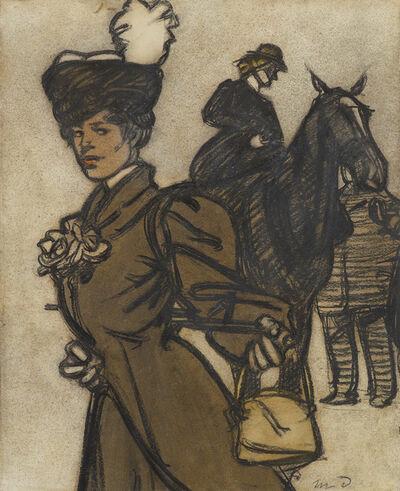 Maxime Dethomas, 'Jeune femme et amazone'