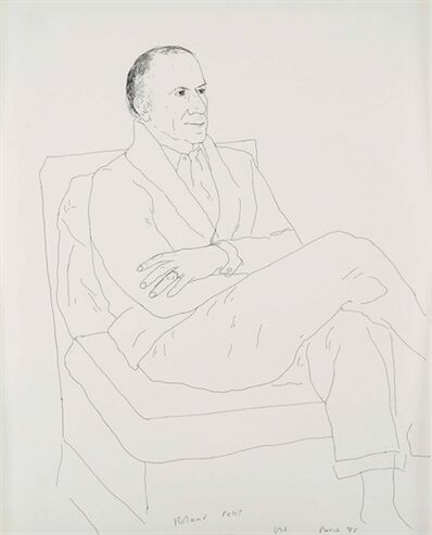 David Hockney, 'Roland Petit'