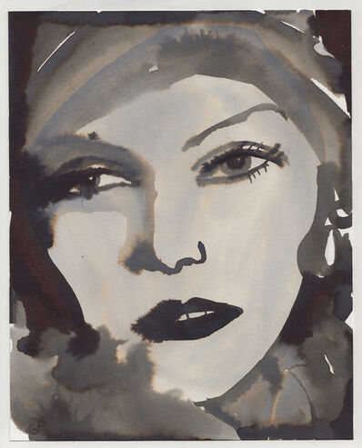 """Gill Button, 'Greta Garbo (From """"I Want To Be Let Alone"""" series)', 2017"""