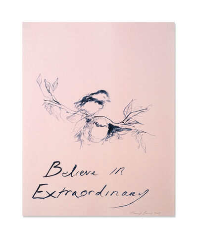 Tracey Emin, 'Believe in Extraordinary', 2015