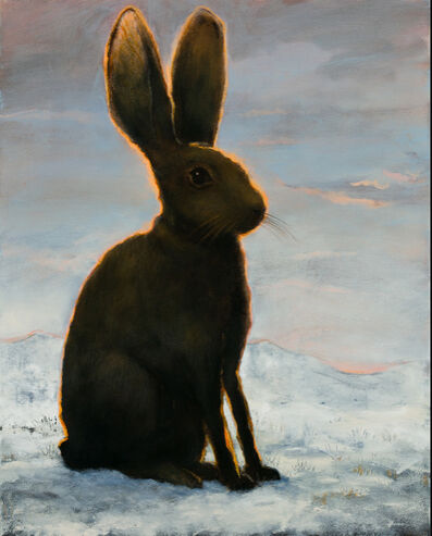 Kevin Sloan, 'The Frozen Hare ', 2018