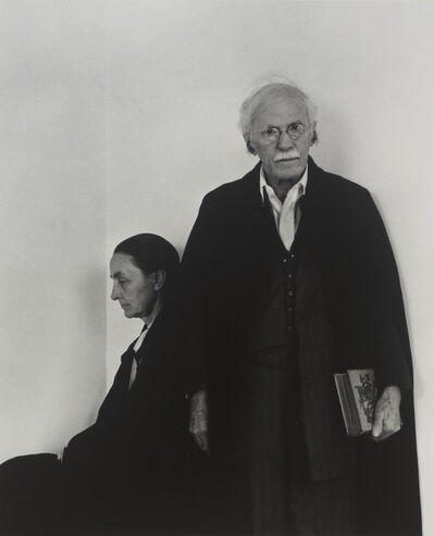 Arnold Newman, 'Stieglitz and O'Keeffe, An American Place', 1943