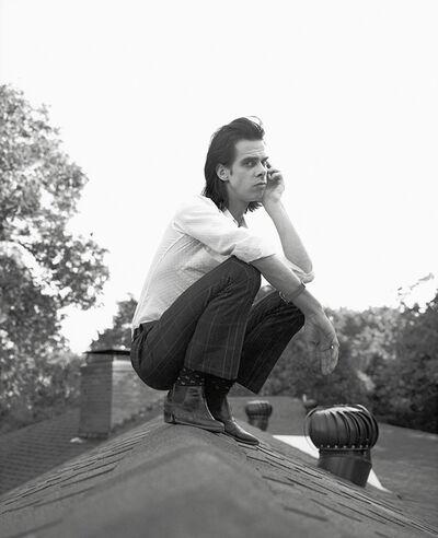 Geof Kern, 'Nick Cave on my roof', 1994