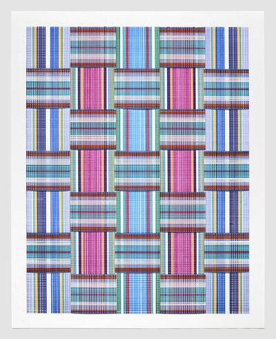 Carly Glovinski, 'Leisure Weave 7', 2017